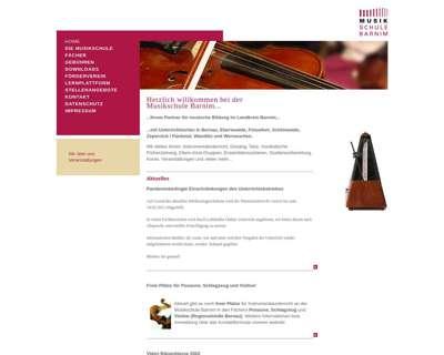 Screenshot (small) http://www.musikschulebarnim.de
