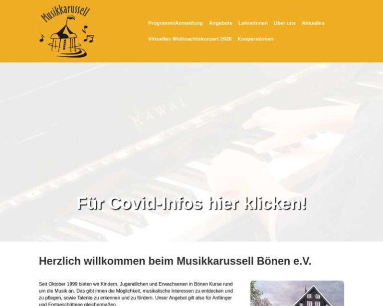 Screenshot (middle) http://www.musikkarussell-boenen.de