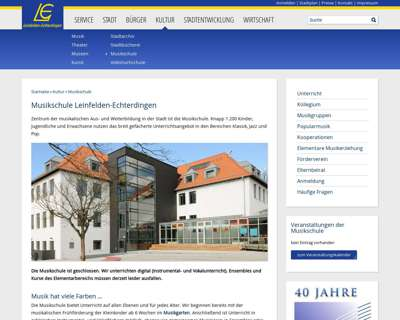 Screenshot (small) http://www.musikschule.leinfelden-echterdingen.de