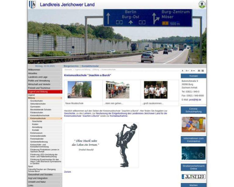 Screenshot (middle) http://www.lkjl.de/de/kreismusikschule.html