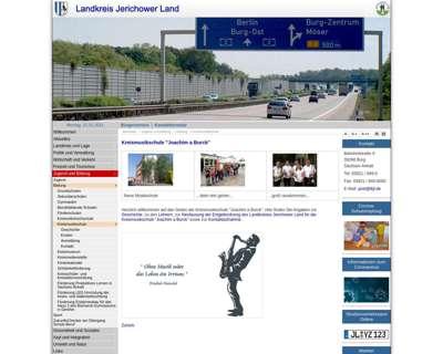Screenshot (small) http://www.lkjl.de/de/kreismusikschule.html