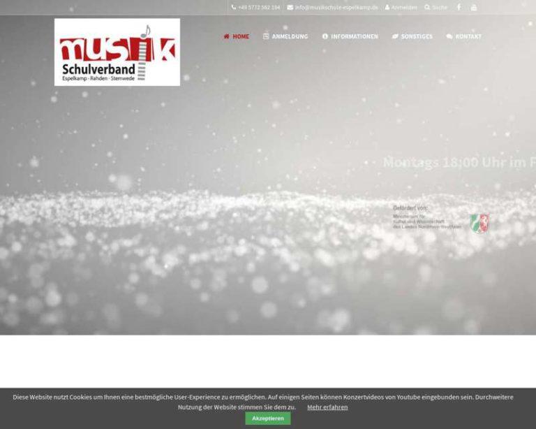 Screenshot (middle) http://www.musikschule-espelkamp.de