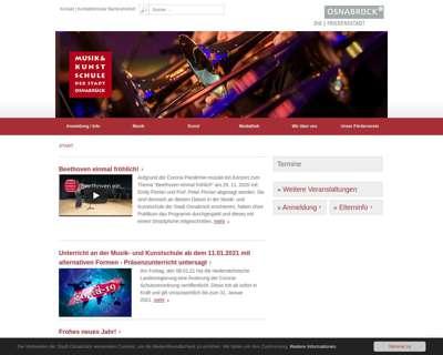 Screenshot (small) http://www.osnabrueck.de/musikschule