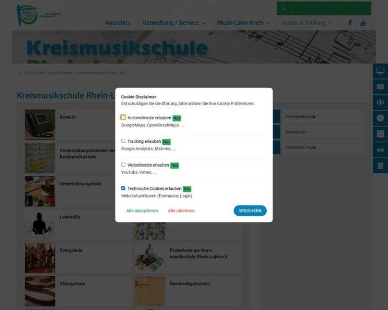Screenshot (middle) http://www.kreismusikschule-rhein-lahn.de
