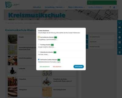 Screenshot (small) http://www.kreismusikschule-rhein-lahn.de
