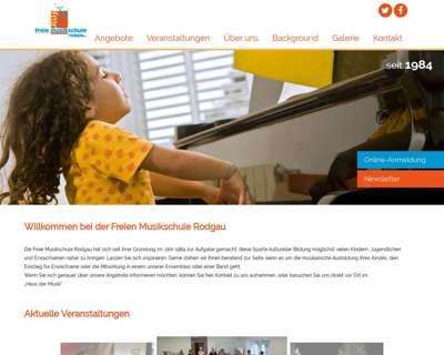 Screenshot (small) http://www.musikschule-rodgau.de