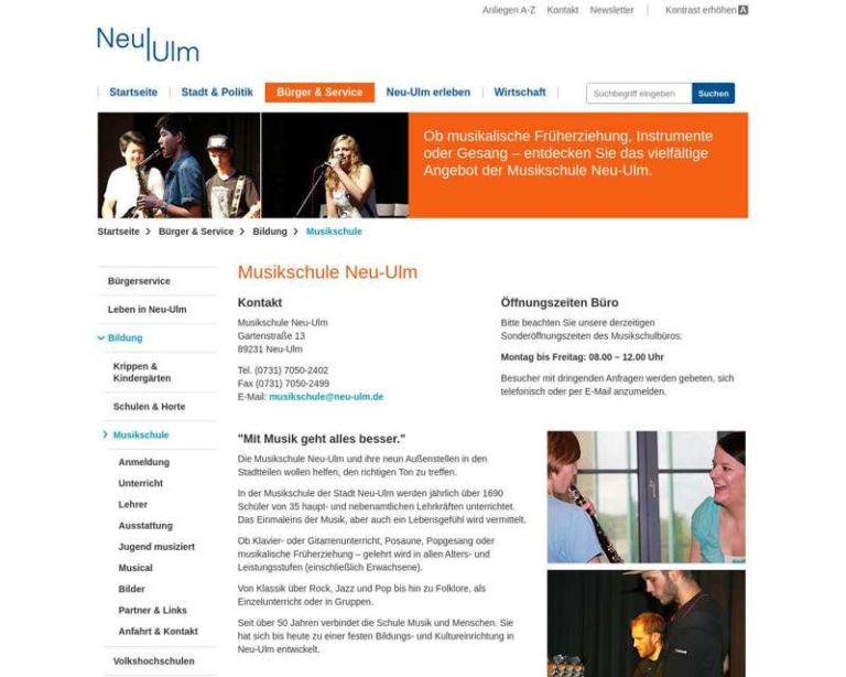 Screenshot (middle) http://www.musikschule.neu-ulm.de