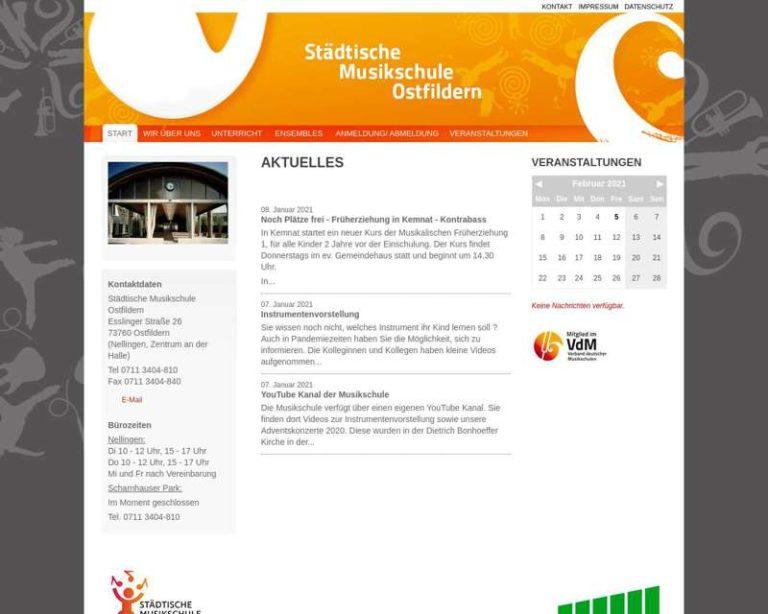 Screenshot (middle) http://www.musikschule-ostfildern.de