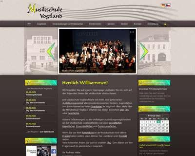 Screenshot (small) http://www.musikschule-vogtland.de