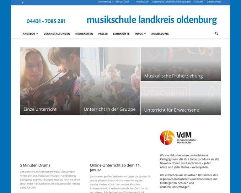 Screenshot (middle) http://www.musikschule-lk-oldenburg.de