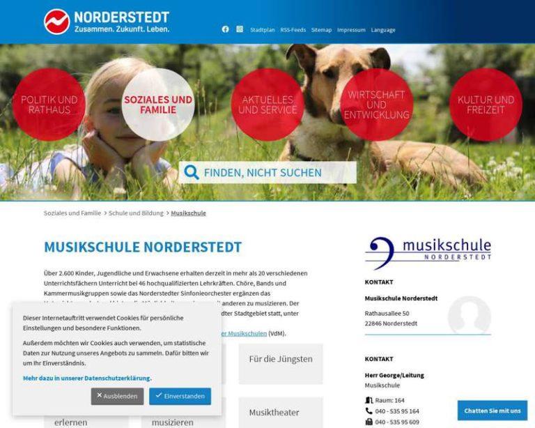 Screenshot (middle) http://www.musikschule.norderstedt.de