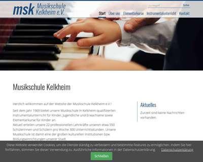 Screenshot (small) http://www.musikschule-kelkheim.de