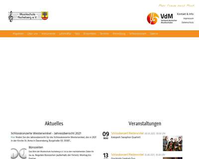 Screenshot (small) http://www.musikschule-ascheberg.de