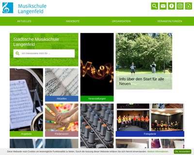 Screenshot (small) http://www.musikschule-langenfeld.de