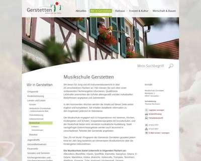 Screenshot (small) http://www.musikschule-gerstetten.de