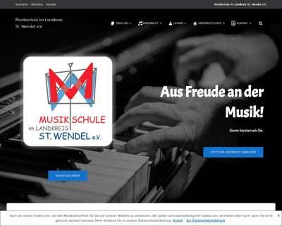 Screenshot (small) http://www.musikschule-wnd.de