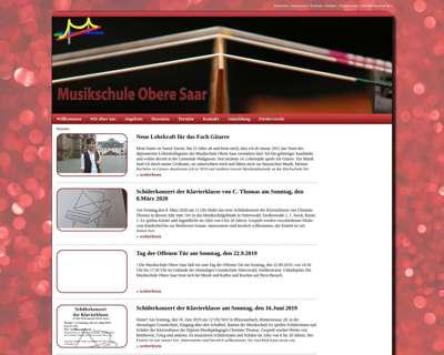Screenshot (small) http://www.musikschule-obere-saar.de/