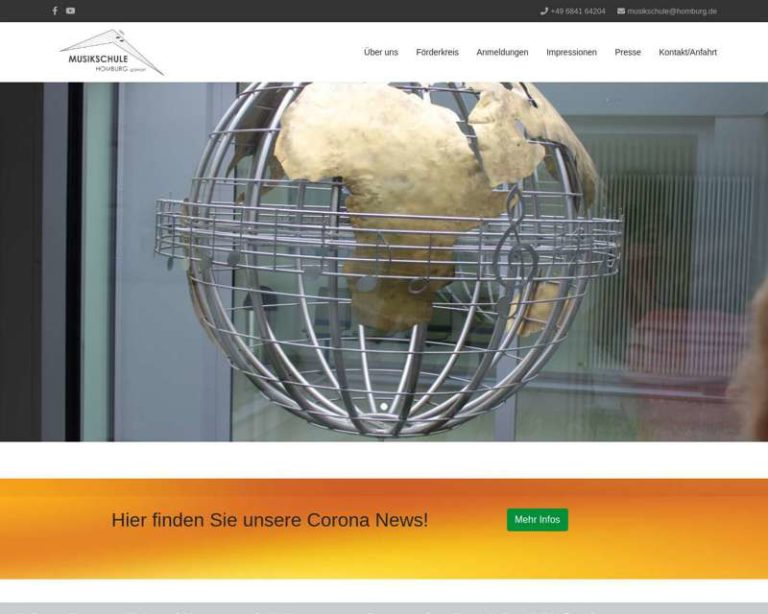 Screenshot (middle) http://www.musikschule-homburg.de