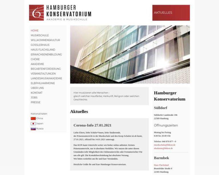 Screenshot (middle) http://www.hamburger-konservatorium.de