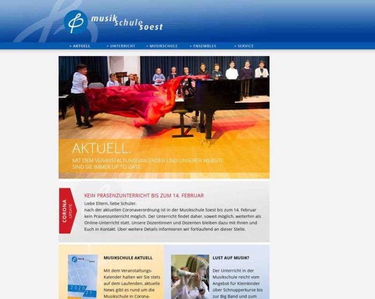 Screenshot (middle) http://www.musikschule-soest.de