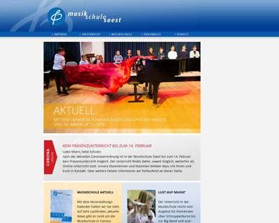 Screenshot (small) http://www.musikschule-soest.de