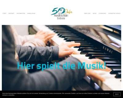 Screenshot (small) http://www.musikschule-uelzen.de