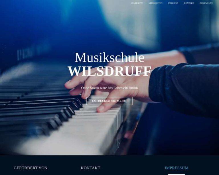 Screenshot (middle) http://musikschule-wilsdruff.de
