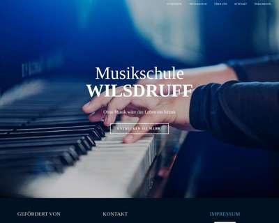Screenshot (small) http://musikschule-wilsdruff.de