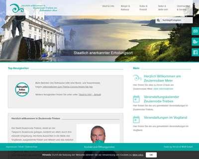 Screenshot (small) http://www.zeulenroda-triebes.de