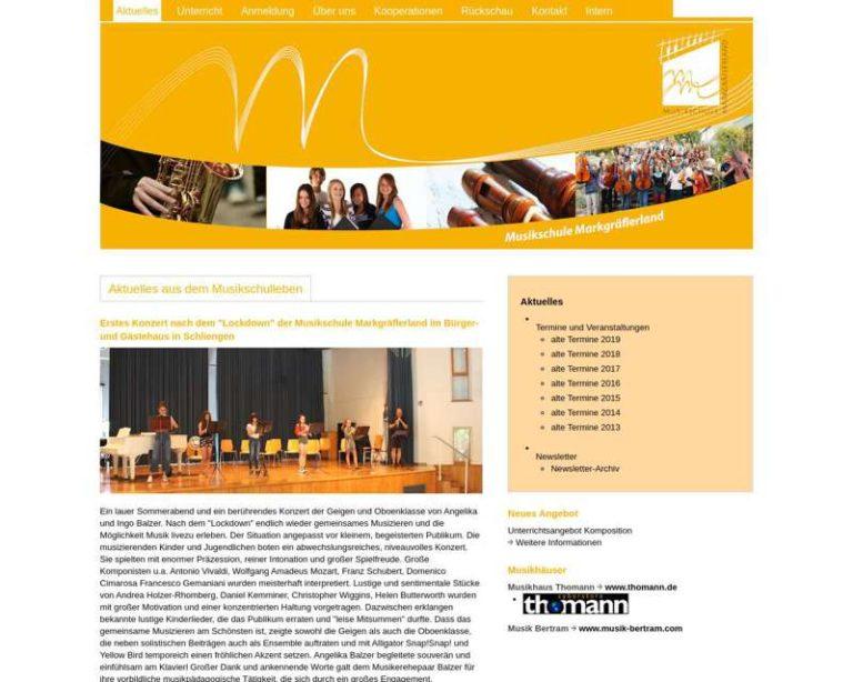 Screenshot (middle) http://www.musikschule-markgraeflerland.de