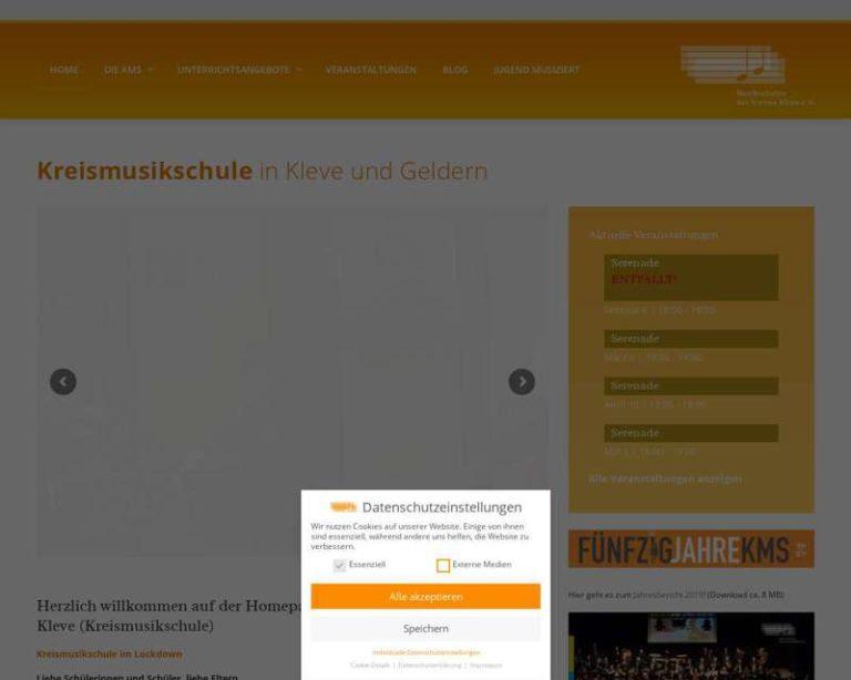 Screenshot (middle) http://www.kms-kleve.de