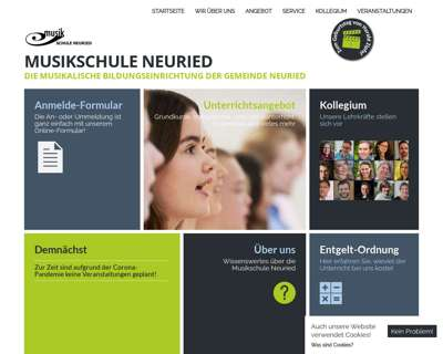 Screenshot (small) http://www.musikschule-neuried.de