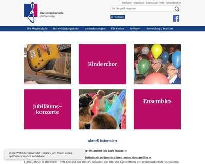 Screenshot (small) http://www.kreismusikschule-oh.de