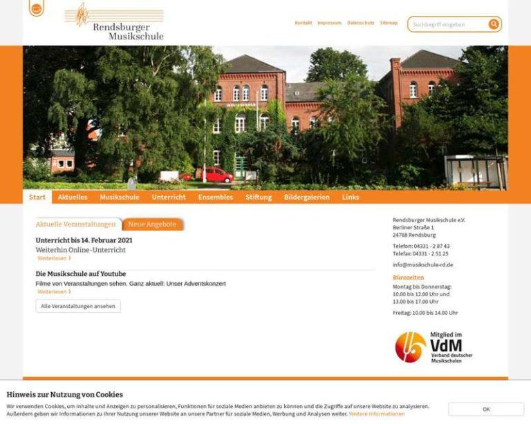 Screenshot (middle) http://www.musikschule-rd.de