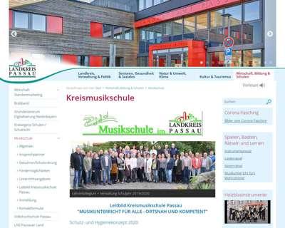 Screenshot (small) http://www.landkreis-passau.de/musikschule