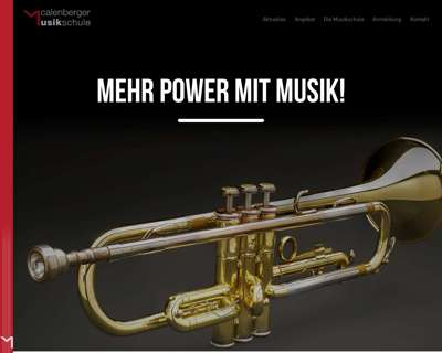 Screenshot (small) http://www.calenberger-musikschule.de
