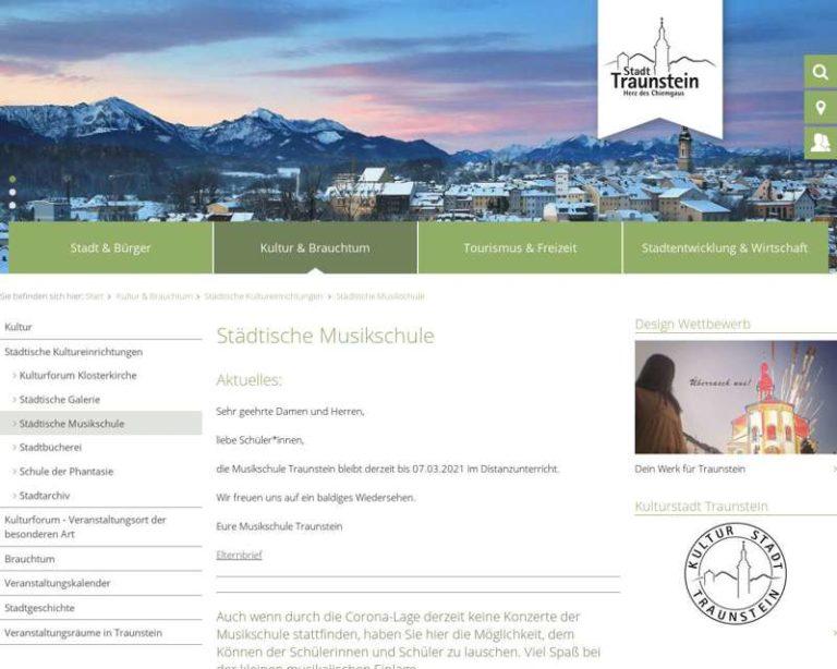 Screenshot (middle) http://www.musikschule-traunstein.de