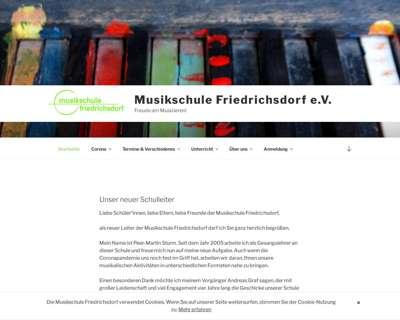 Screenshot (small) http://www.musikschule-friedrichsdorf.de