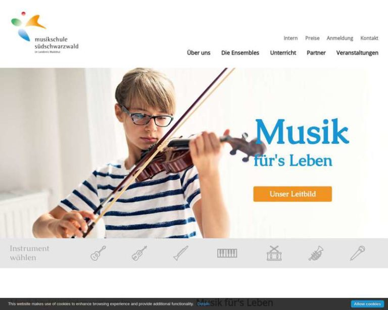 Screenshot (middle) http://www.musikschule-suedschwarzwald.de