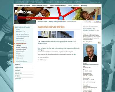 Screenshot (small) http://www.jms-balingen.de/
