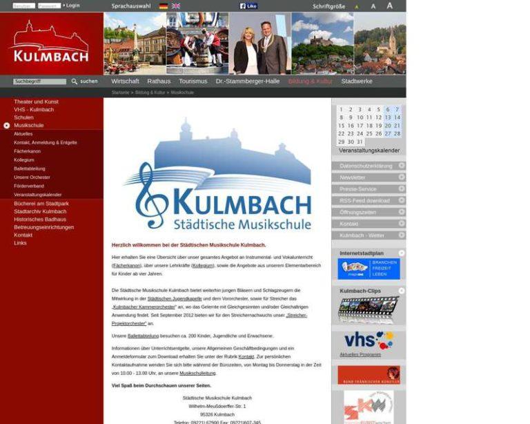 Screenshot (middle) http://www.kulmbach.de/musikschule