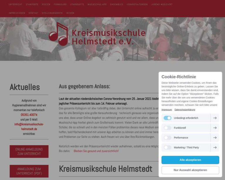 Screenshot (middle) http://www.kreismusikschule-helmstedt.de