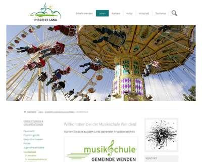 Screenshot (small) http://www.wenden.de/musikschule