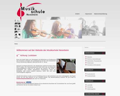 Screenshot (small) http://www.musikschule-neresheim.de