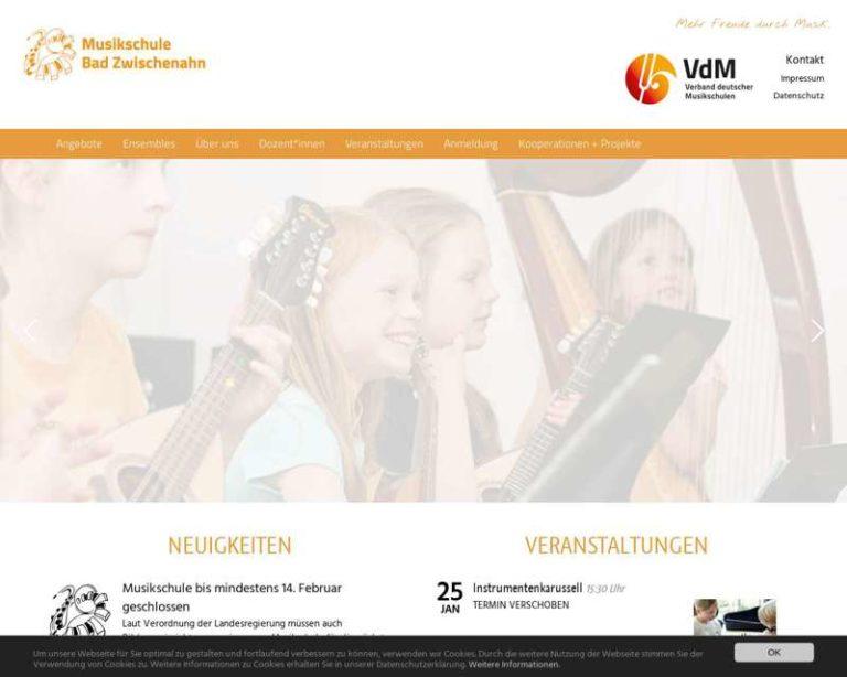 Screenshot (middle) http://www.musikschule-bad-zwischenahn.de