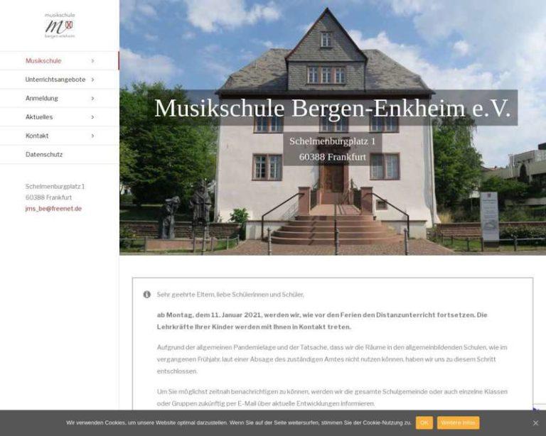 Screenshot (middle) http://www.musikschule-bergenenkheim.de