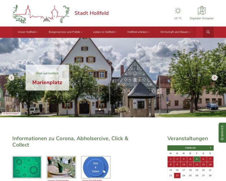 Screenshot (middle) http://www.hollfeld.de