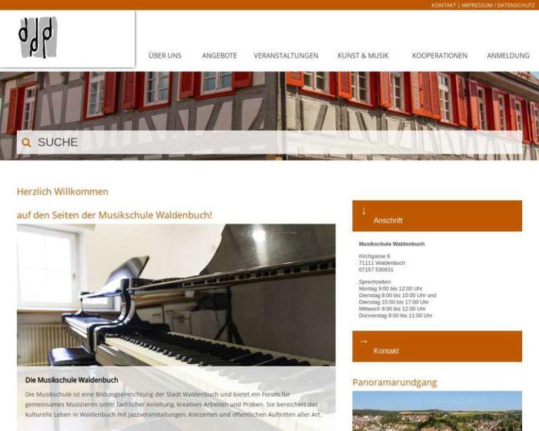 Screenshot (middle) https://musikschule.waldenbuch.de