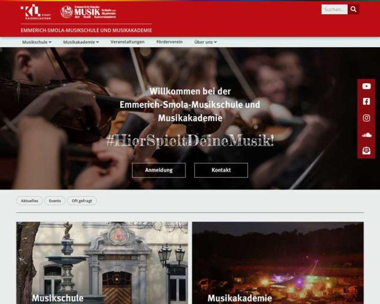 Screenshot (middle) http://www.musikschule-kaiserslautern.de