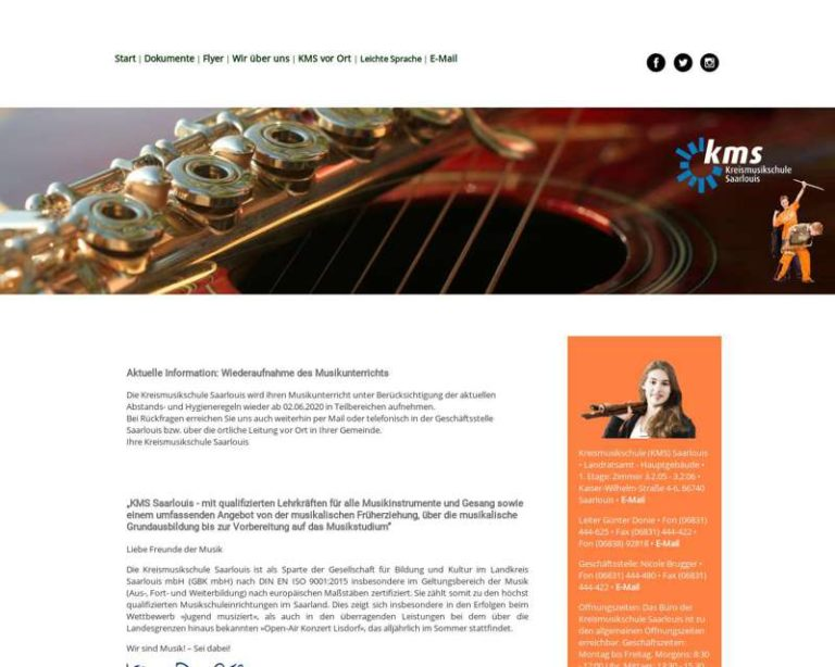 Screenshot (middle) http://www.kms-saarlouis.de/